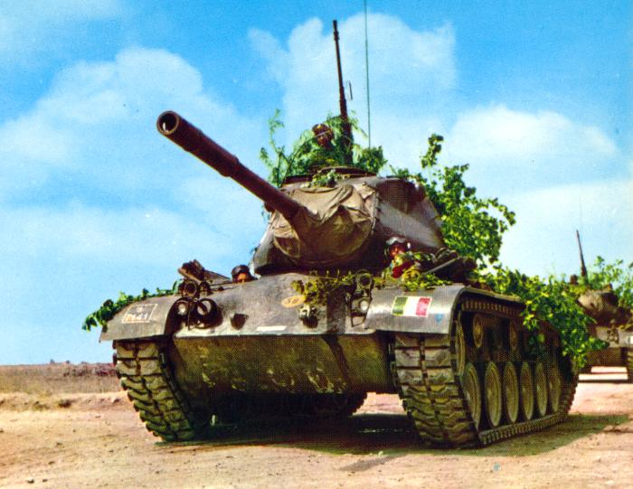 M47 patton carri armati for Generale il tuo carro armato